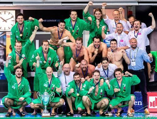 унгарски ференцварош е освојувач на лигата на шампиони во ватерполо