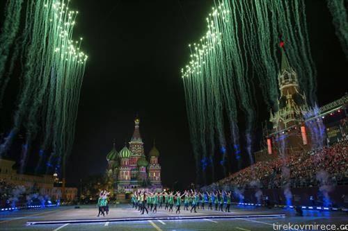 фестивал на воени оркестри во Москва