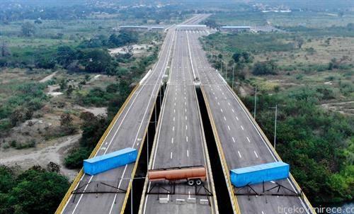 блокада на автопат во Венецуела, поддршка за Гаудо