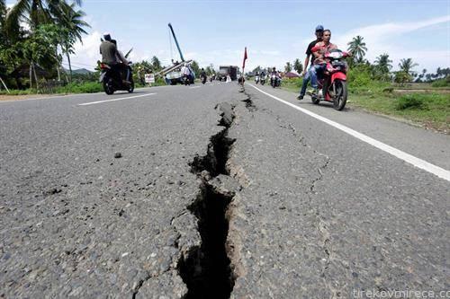 последиците на земјотресот во Индонезија
