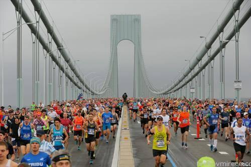 на учесници на маратонот во Њујорк