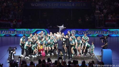 унгарски Ѓер е старо нов првак на Европа во ракомет за жени
