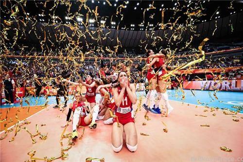 Женската одбојкарска репрезентација на Србија е светски првак