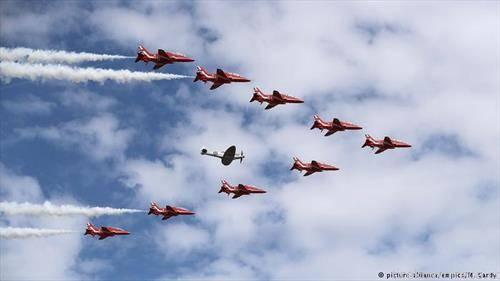 Меѓународниот воздухопловен салон во Фернборо е најголем настан од ваков вид во светот