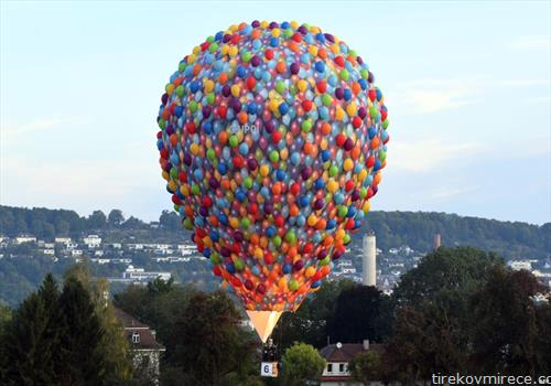балон на воздух лета на Германија