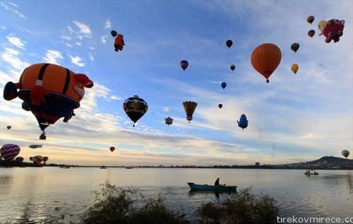 17. меѓународен фестивал на летечки балони во Леон Мексико. На него учествуваа повеќе од 200 пилоти од 23 земји од светот.