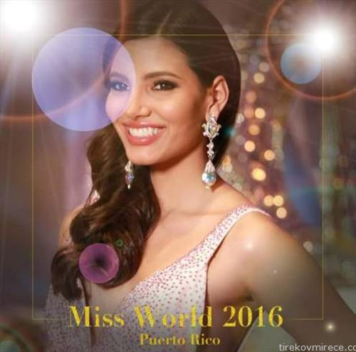 Мис Порторико, 19-годишната Стефани дел Вале победи на изборот за убавина Мис на светот 2016,