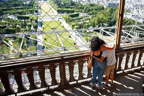 поглед од отворената ајфелова кула