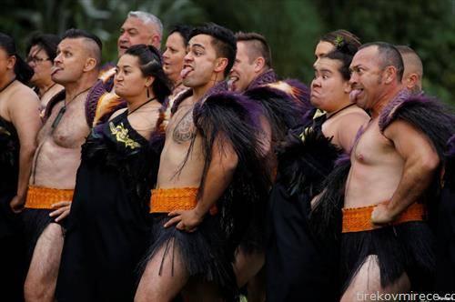 Маврите му посакуваат добредојде  на Нов Зеланд на Британскиот принц Хари и неговата сопруга