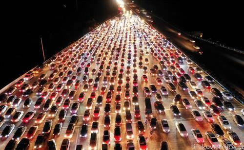 автопат Кина, по завршување на викенд