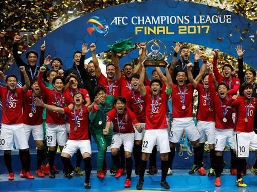 екипата на ураво редс од Јапонија  е победник на азискиот куп на прваците во фудбал