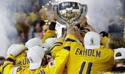 шведска е ново стариот светски првак во хокеј