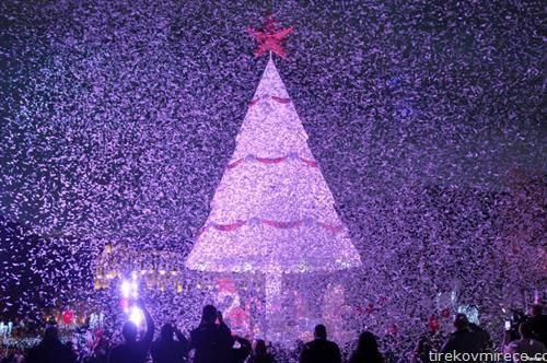 божикно дрво во либан
