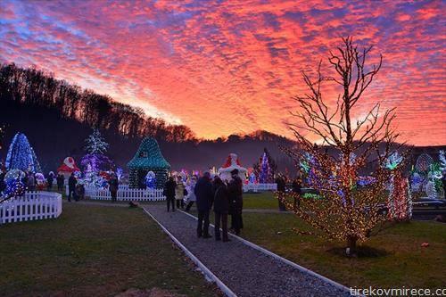 дворот на семејството салај, хрватска со 2 милиони светилки