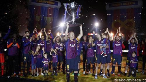 фк Барселона е првак на Шпанија