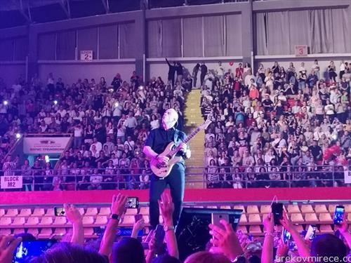 Ерос рамацоти на концерт во Скопје