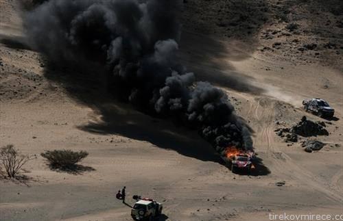 година    сцена од релито дакар 2020, кое годинава се вози низ саудиска арабија