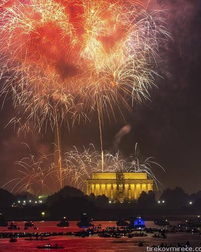 -ти јули денот на независноста нa САД