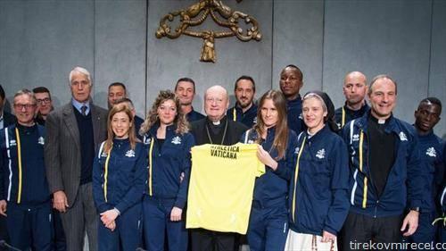 Ватикан доби свои  со спортисти - атлетичари