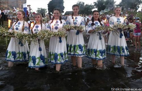 прослава на Иванден во Белорусија