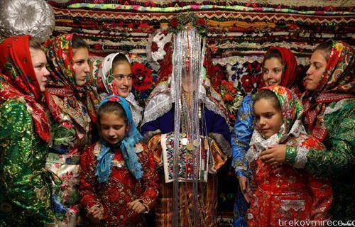 свадбена церемонија на бугарска муслиманка
