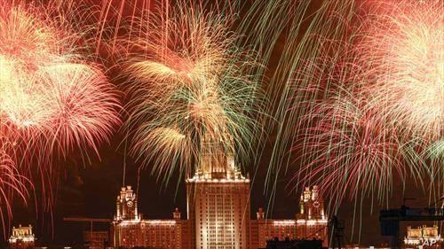 Москва слави со огномет за 75 години од победата над фашизмот