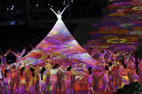 затворање на параолимиписките игри во Пјогнчанг