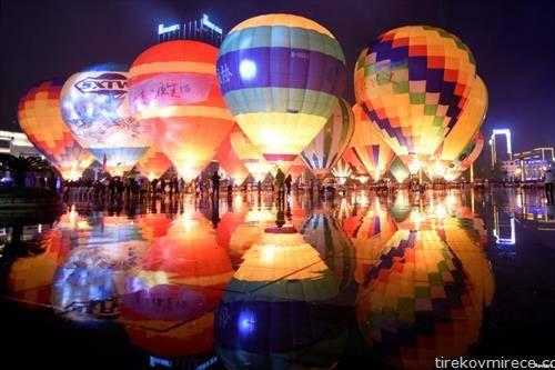 Балони на воздух ќе полетуваат со туристи, во провинција во Кина