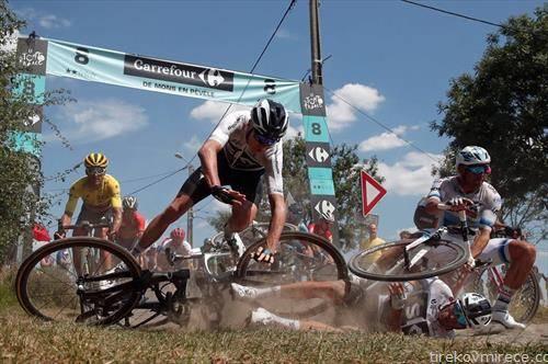 падови на велосипедската трка Тур д Франс