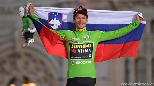 Словенецот роглич е победник на вуелта, една од трите престижни велосипедски трки во светот