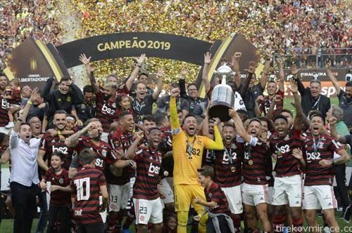 екипата на Фламенго ја освои Лигата на шампионите ан Јужна Америка