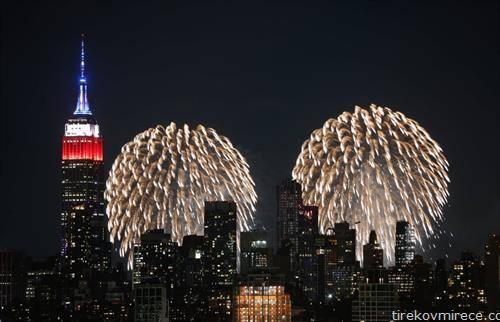 огномет во Њујорк за 4-ти јули