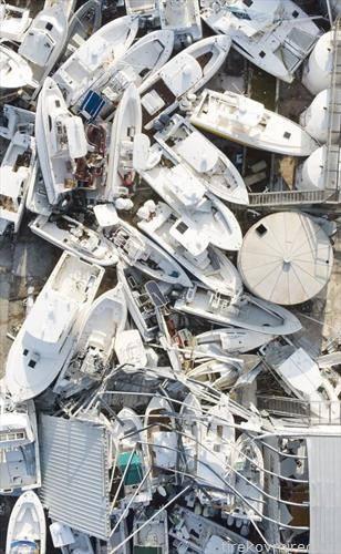 што остави ураганот дориан зад себе, на бахамите