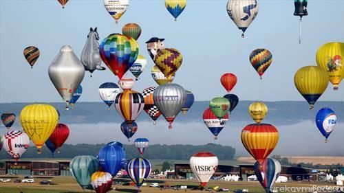 фестивал на балони на воздух во Франција
