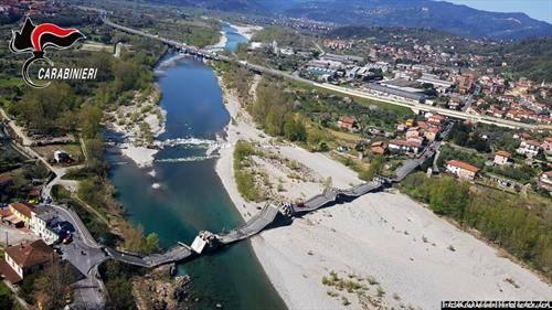 Се урна уште еден мост во Италија, на реката Марга во Тоскана
