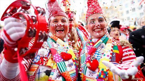започна карневалот во Келн