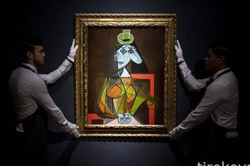 аукција на дело на Пикасо
