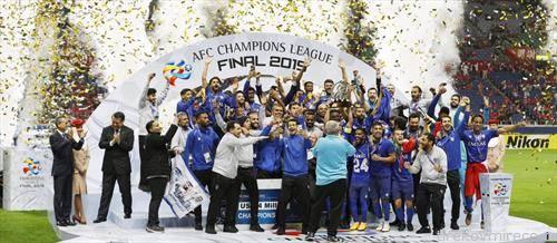 ал хилал ја освои лигата на шампионите на Азија во фудбал
