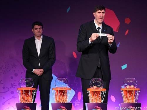 Романецот мурешан висок 2,31 м екс НБА кошаркар ги извлекуваше групите за ЕП во кошарка