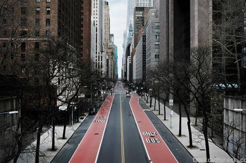 Менхетен 42 улица  Њујорк празна