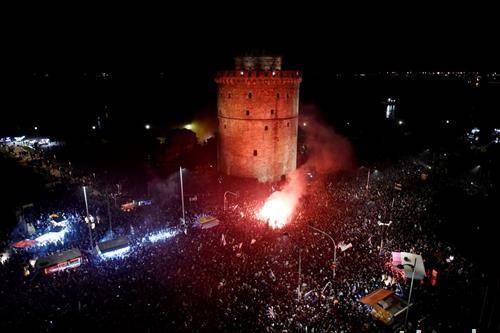 славје во Солун, ПАОК по 34 пат е првак на Грција