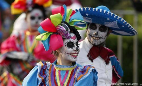 Ден на мртвите во Мексико
