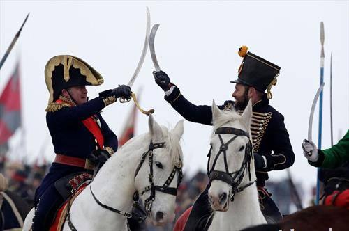 2 декември 1805 битката кај Аустерлиц и победата на Наполеон, денес повторно оживеа