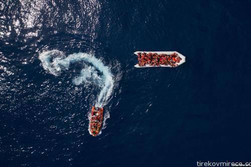 бегалци во Медитеранот