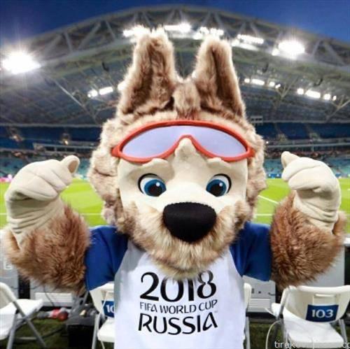 Волкот Забавика маскота на СП 2018 во Русија