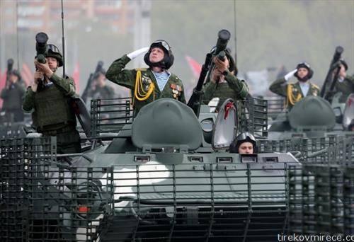 во Белорусија парада за 75 години од победата над фашизмот