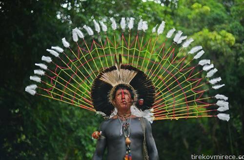 индијанец од Бразил