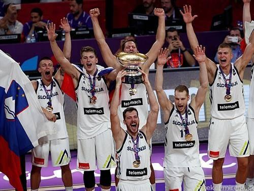 Словенците станаа европски прваци во кошарка
