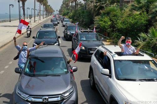 штрајк во Либан, согласно препораките за оддалеченост