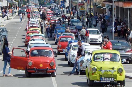 Собир на фиќовци во Аранѓеловац, Србија